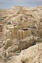 Mar sabas monastery the ancient of in the israeli judean desert is about years old Royalty Free Stock Images