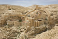 Mar sabas monastery the ancient of in the israeli judean desert is about years old Stock Photo