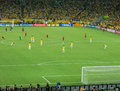 Maracana stadium brazil vs spain fifa confederations cup final match final rio de janeiro june Stock Photo