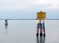 Marano Lagoon Stock Image