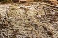 Maras salt mines peruvian Andes Cuzco Peru Royalty Free Stock Photo