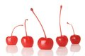 Maraschino cherries Stock Photo