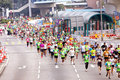 Marathon 2012 de Hong Kong Photo stock