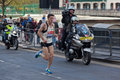 Marathon 2012 de Londres de Vierge - Merrien Photo stock