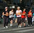 Marathon La Parisienne 2007 Royalty Free Stock Images