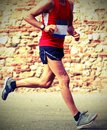 Runner runs fast race in town