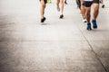 Marathon Running Race People C...