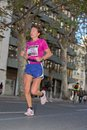 Marathon valencia november wilhelmina van onna number runner participates in valencias on november in valencia spain Royalty Free Stock Image