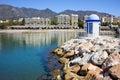 Marbella Bay Stock Image