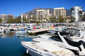 Marbella Harbour Royalty Free Stock Photography