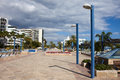 Marbella Promenade Stock Photography