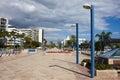 Marbella Promenade Stock Photography
