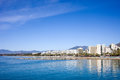 Marbella Skyline in Spain Stock Photography