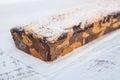 Marble cake - Homemade sweet dessert Royalty Free Stock Photo