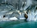 Marble caves Royalty Free Stock Photo