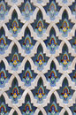Marble design Hassan II Mosque,Casablanca Royalty Free Stock Image