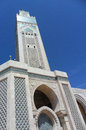Marble design of Hassan II Mosque,Casablanca Royalty Free Stock Image