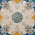 Marble mosaic texture vintage stone Royalty Free Stock Photo