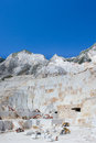 Marble quarry Stock Images