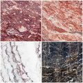 Marble set Royalty Free Stock Photo