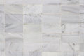 Marble slabs checkered background or textured wall with stone of gray and white Stock Photo