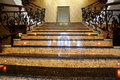 Marble staircase Stock Photos