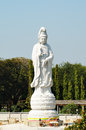 Marble statue of Buddha Stock Photography