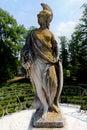 Statue Minerva Labyrinth of Love park Villa Pisani, Stra, Veneto, Italy