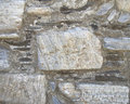 Marble & stone wall closeup Royalty Free Stock Photo