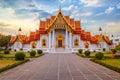 The Marble Temple, Wat Benchamabopit Dusitvanaram in Bangkok
