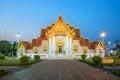 The Marble Temple, Wat Benchamabopitr Dusitvanaram Bangkok THAIL