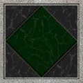 Marble tile dark green background Royalty Free Stock Photography