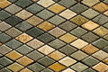 Marble tile mosaic  Royalty Free Stock Photo