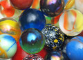 Marbles Close-up Royalty Free Stock Photo