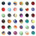 Marbles Collection Royalty Free Stock Photo