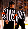 Marc Joannette NHL Referee Stock Photography