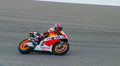 Marc marquez at austin motogp has won the first races of the season beating the best such as valentino rossi jorge lorenzo and Stock Image