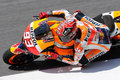 Marc Marquez REPSOL HONDA TEAM at Mugello 2015 Royalty Free Stock Photo