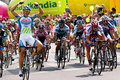 MARCEL KITTEL wins Tour de Pologne first stage Royalty Free Stock Photo