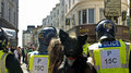 March for england in brighton today s related incidents Royalty Free Stock Photos