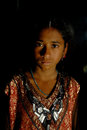 March medinipur west bengal india asia adolescent girl standing her home Stock Image