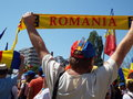 March of stefan cel mare for unification of romania and moldova july about waited bucharest university square on sunday in the Royalty Free Stock Photography