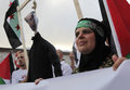 March to commemorate Mavi Marmara raid Stock Image