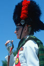 Marching band leader Royalty Free Stock Photography