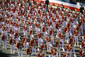 Marching band in parade Royalty Free Stock Photo