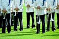 Marching band Royalty Free Stock Photo