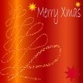 Marco de Navidad Imagen de archivo libre de regalías