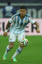 Marcos rojo faustino alberto pictured during the friendly football match between romania and argentina the final score th march Stock Photography