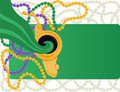 Mardi Gras carnival background Royalty Free Stock Images