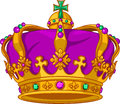 Mardi Gras crown Royalty Free Stock Images